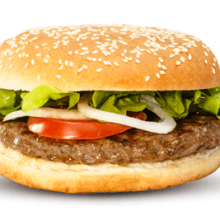Hamburger actie!